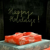 Image of GIVE CHEER Fabric Gift Wrap
