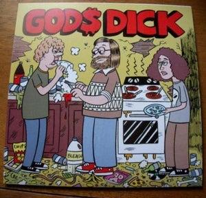 "Image of GOD$ DICK- Shitlife 7"" (TR-01)"