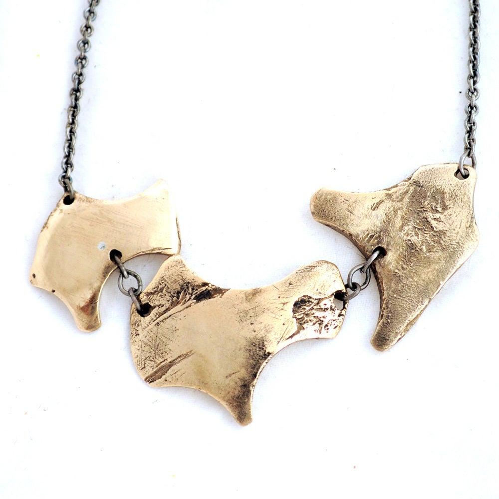 Image of Debitage Triad Necklace