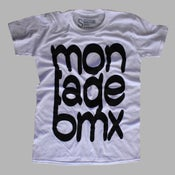 Image of Joined Letter Tee (MonatgeBMX)