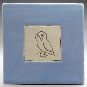 "Image of Owl, 4x4"""