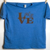 Image of LOVE (bike) Men's tee
