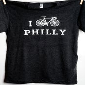Image of I Bike Philly Men's tee