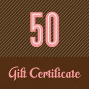 Image of Gift Certificate - $50