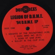 Image of LEGION OF D.U.M.E. '94 D.U.M.E. EP ****SOLD OUT****