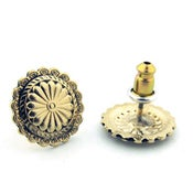 Image of Concho Libre Stud Earrings