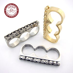 Image of UNION Parts & Recreation Bicycle Jewelry- 3 Finger Bike Chain Ring