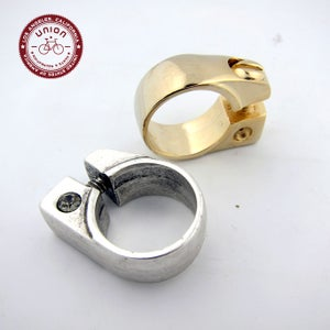 Image of UNION Parts & Recreation Bicycle Jewelry- Unisex Seat Clamp Rings with Optional Stone