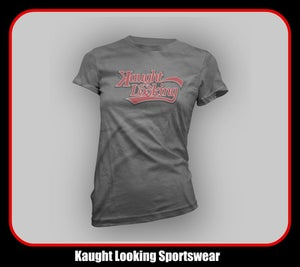 "Image of Kaught Looking Script Logo (Women) ""Away Jersey"""