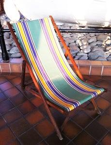 Image of Vintage deck chair
