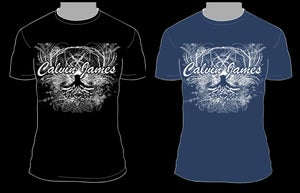 Image of Calvin James - Roots Design T-Shirt