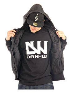 Image of Dan-W T-Shirt (Black/White)