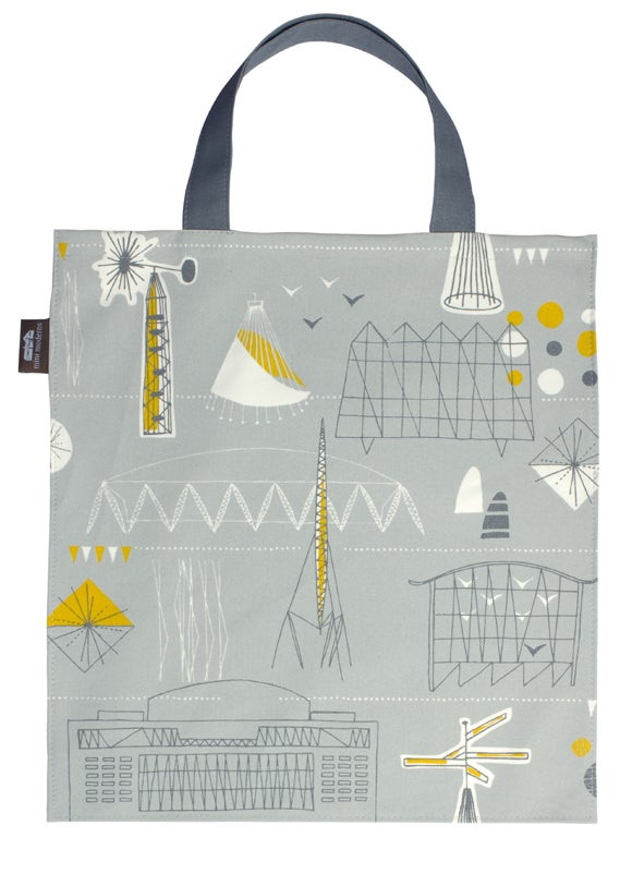 Image of Festival Canvas Bag - Grey