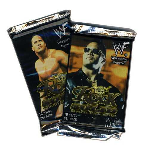 Image of WWF WRESTLING - THE ROCK - TRADING CARDS - 2000