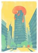 Image of Towerblock         50x70cm