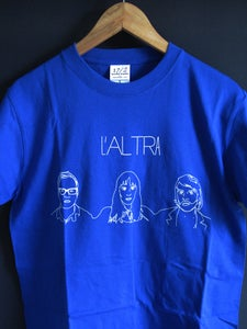 Image of L'Altra Faces T-Shirt (Blue)