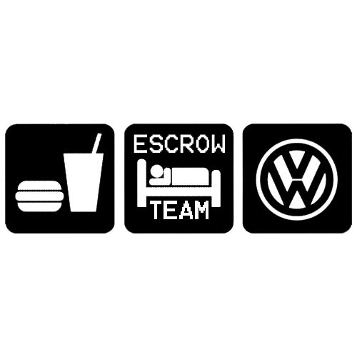 Escrow team eat sleep vw Escrow motors