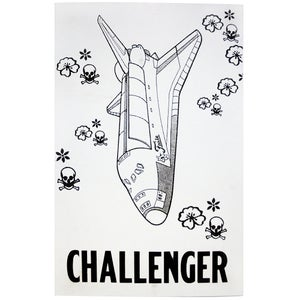 Image of Faile - Challenger - LetterPress print Limited edition