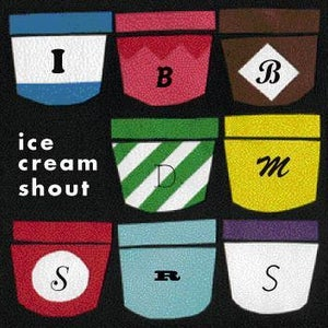 Image of ice cream shout first album        *FREE SHIPPING*
