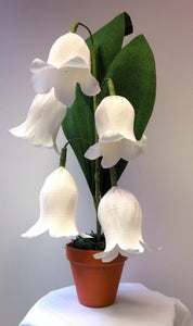 Image of Giant Crepe Paper Lily of the Valley