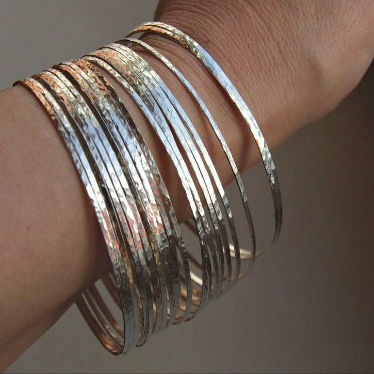 ... stack bangles by Nadine *Stacking rings * Stackable rings * Stack