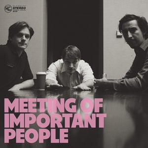 Image of VINYL Meeting of Important People self-titled full-length LP (2009)