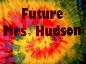 Image of JEWELED!! Future Mrs. Hudson Shirt TIE-DYE