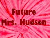 Image of JEWELED!! Future Mrs. Hudson Shirt PINK