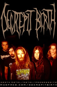 Image of Decrepit Birth(Nuclear Blast) - December 14th - Cahootenany's
