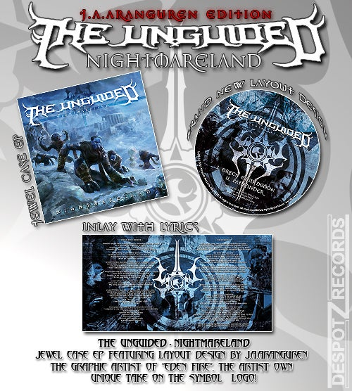 Image of The Unguided - Nightmareland [EP CD]