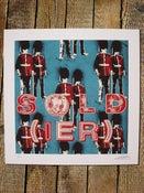 Image of sold(ier) blue