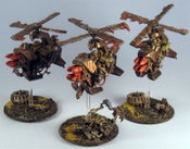 Image of Ork Deff Koptas - Magnetized & Pro Painted