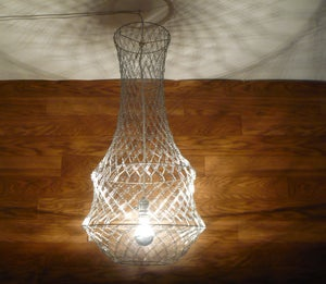 Image of Romanesque Paper Clip Chandelier