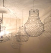 Image of Roulette Toss Paper Clip Chandelier