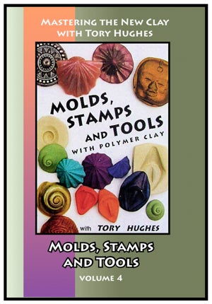 Image of Mastering the New Clay DVDs: Molds, Stamps and Tools, with Tory Hughes