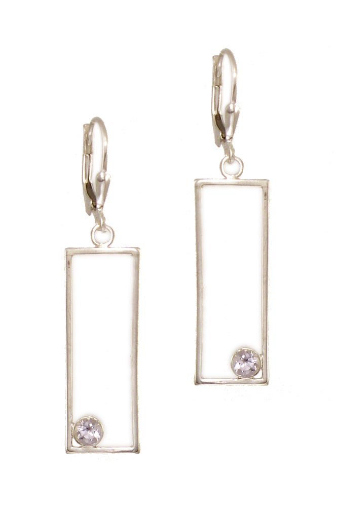 Image of Centric with Topaz Earrings
