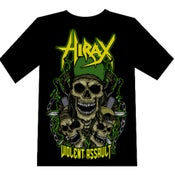 "Image of HIRAX ""Violent Assault"" T-SHIRT"