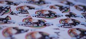 Image of Tandem of Die Stickers