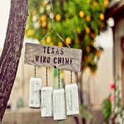 Image of texas wind chime print