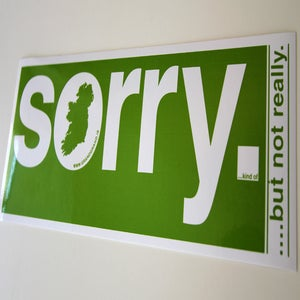 Image of sorry. (kind of... but not really)