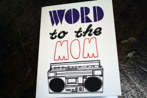 Image of Word to the