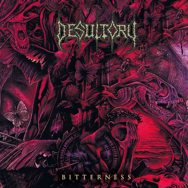 "Image of DESULTORY ""Bitterness"" Super Jewel Box CD"
