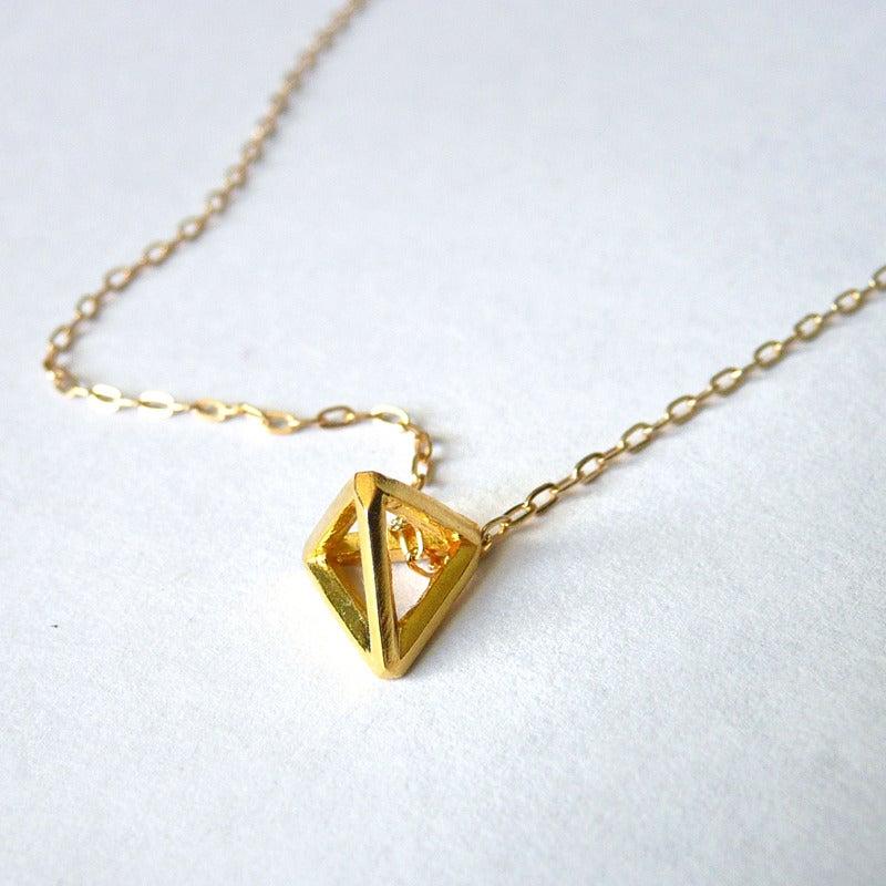 the harbinger co pyramid pendant necklace