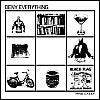 "Image of Deny Everything - Things I Like 7"" CLEAR or BLACK Vinyl"