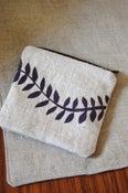 Image of Fern zip purse