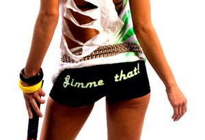 "Image of ""Gimme That"" Spandex Booty Shorts!"