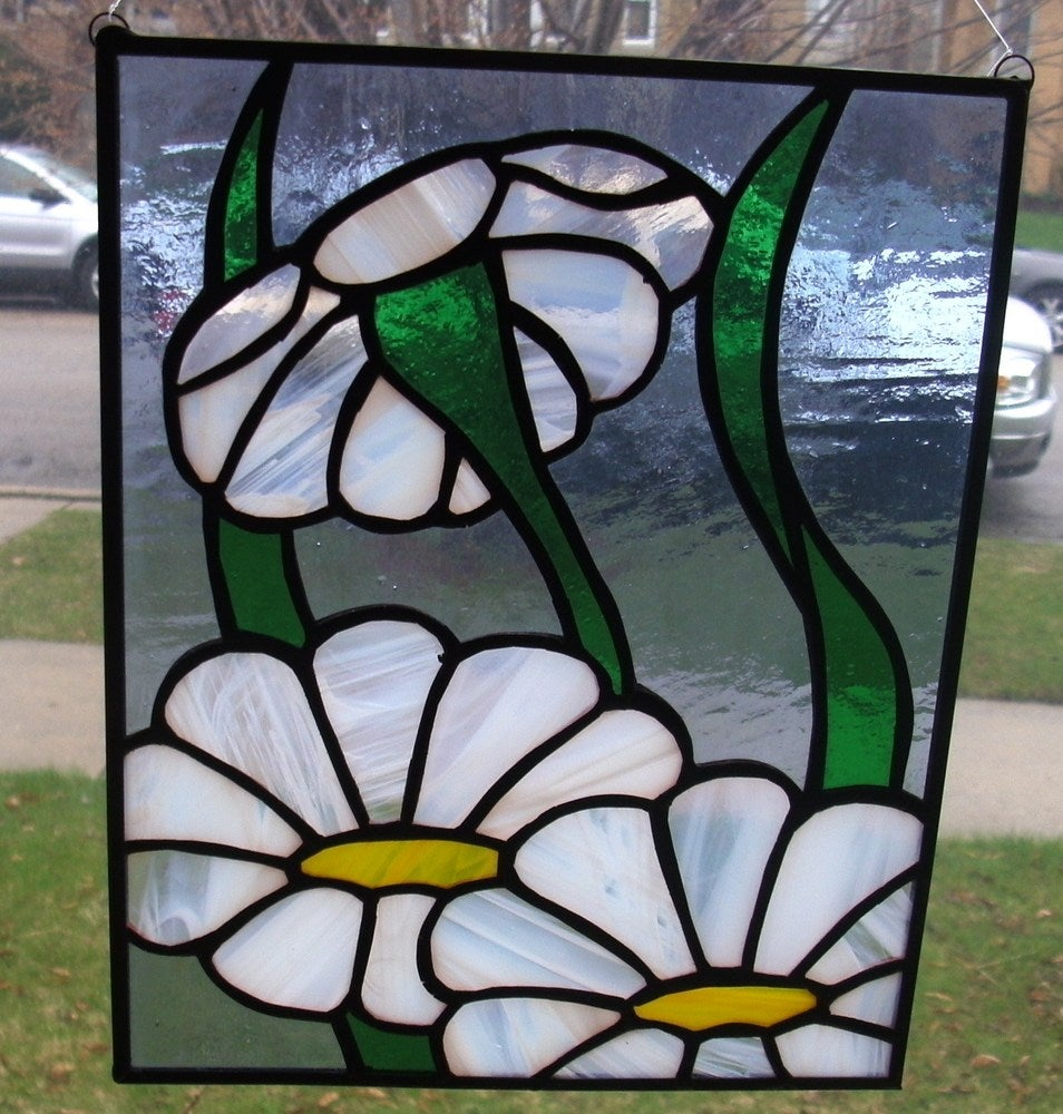 How To Solder Rings On A Stained Glass Piece