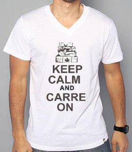 """Image of """"KEEP CALM AND CARREON"""" V NECK"""