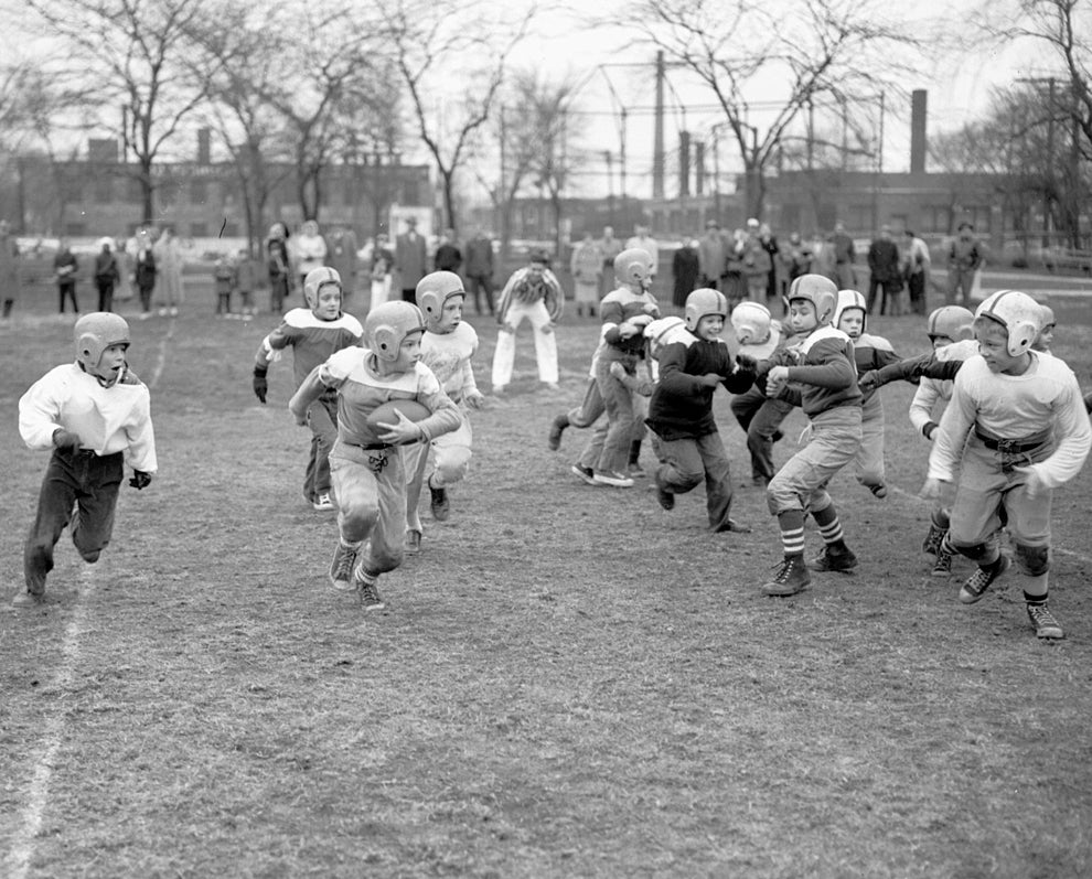 Image of Pop Warner Football: Early 60's