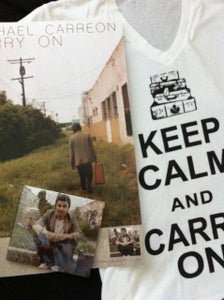 "Image of ""CARRY ON"" EP, SHIRT, AND POSTER PACKAGE!!!"